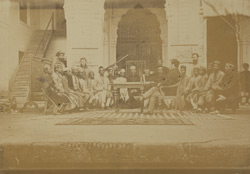 College Class, Canning College, Lucknow